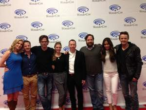 At WonderCon 2013 with the cast